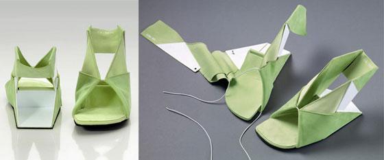 origami-sandals