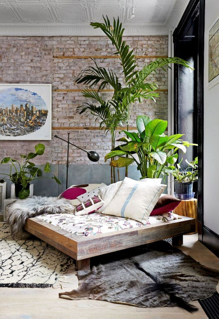 Low-platform-boho-bedroom-design
