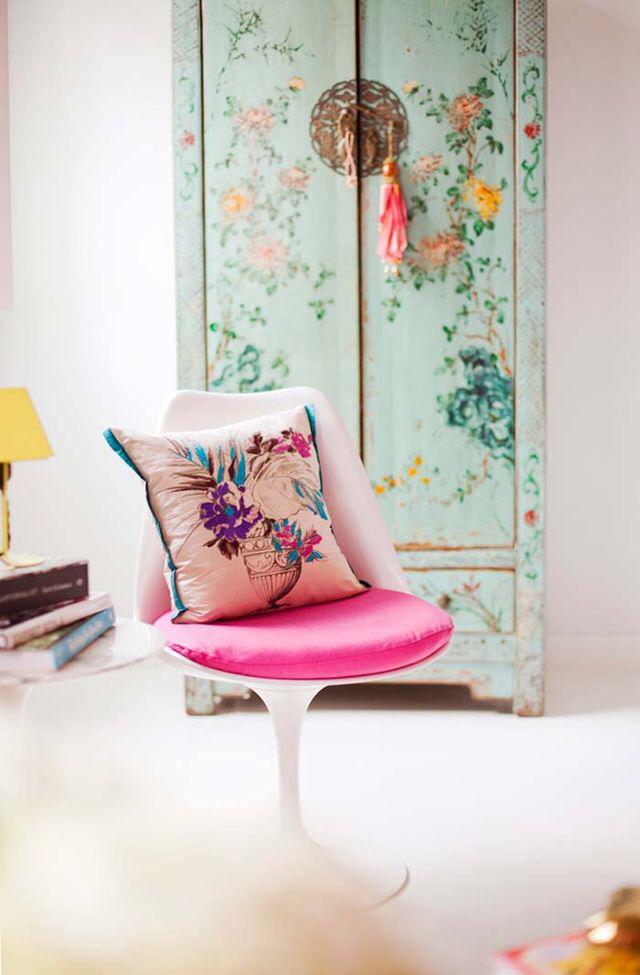 floral cupboard