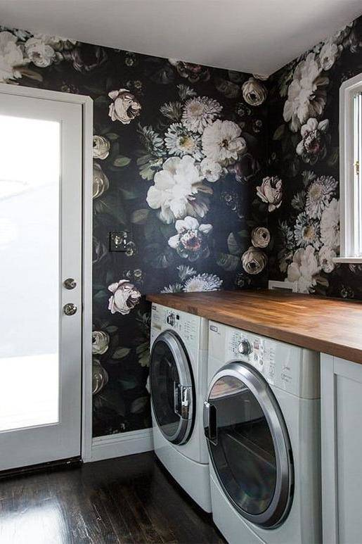 floral laundry