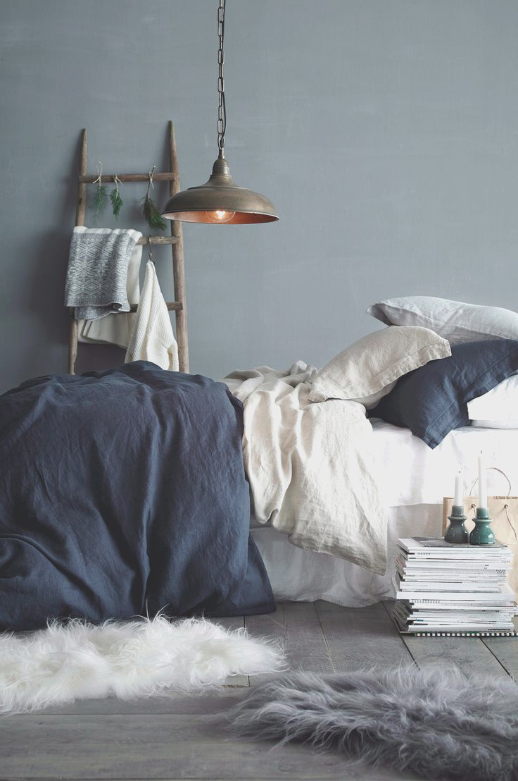 Amazing Dark Blue Gray Bedroom Good Home Design Cool To Home Ideas
