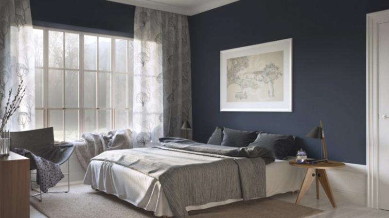 Schlafzimmer Vorhang Design - Raumgestaltung In 50 Ideen