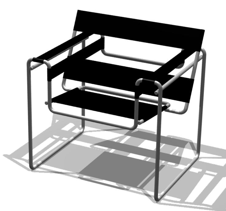 Breuer Vaszilij széke