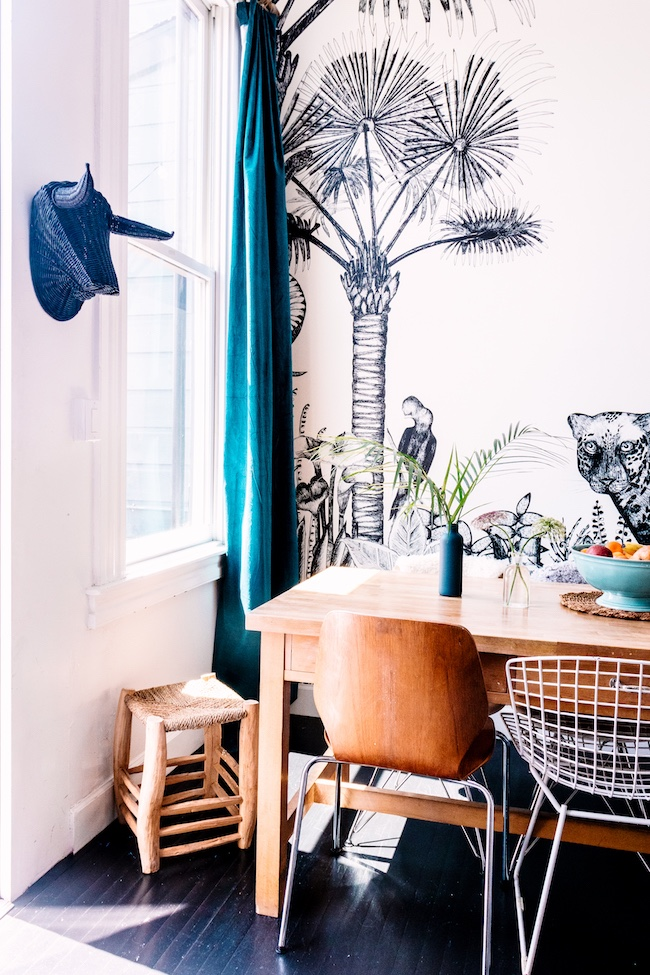 my_kitchen_diy_botanical_wall_frenchbydesign_2