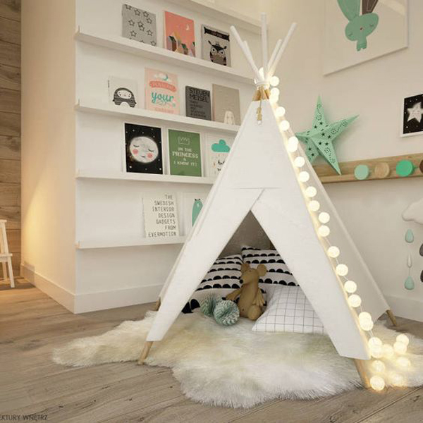 cozy-kids-reading-corner-with-tents